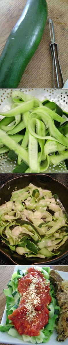 Zucchini Pasta - easy recipes, Gluten Free, recipes, simple recipes