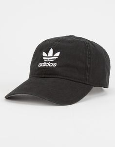 481a295e529 ADIDAS Originals Relaxed Womens Dad Hat - BLACK - BH7139
