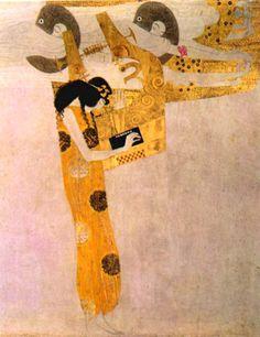 Beethoven Frieze, Allegory of Poetry, 1901.  Gustav Klimt