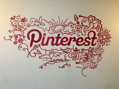 Gia's project: rescued from whiteboard oblivion in Palo Alto, this art was blown up in permanent ink in SF. @Pinterest #makeathon | Flickr - Photo Sharing!