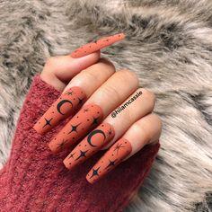 Holloween Nails, Halloween Acrylic Nails, Cute Halloween Nails, Fall Acrylic Nails, Halloween Nail Designs, Fall Nail Designs, Diy Halloween, Cute Fall Nails, Fall Toe Nails