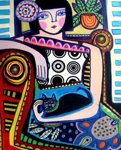 Heather Galler Folk Art - Imageck