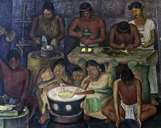 Mixtec Metalworkers by Diego Rivera | Flickr - Photo Sharing!