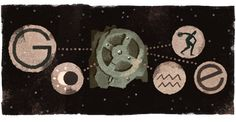 115th anniversary of the Antikythera mechanism's discovery | Google Doodle 05/17/17