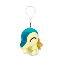 Now you can decorate your backpack or purse with this Cyndaquil Secret Base Poké Doll keychain! It's a rounder, soft style, just like the Poké Dolls found in Pokémon video games. Pokémon Center Original design.