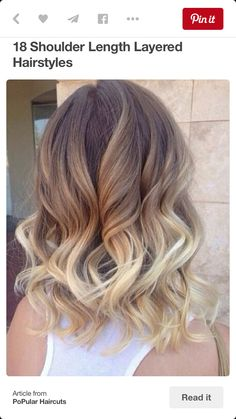 Ombre hair color trend is still popular among women of all ages, sports many celebrities blonde ombre short hairstyles too! So here are Blonde Ombre Short Hair Color Ideas that you want to try fast… Brown Ombre Hair, Brown To Blonde, Ombre Hair Color, Short Blonde, Going Blonde, Light Blonde, Blonde Color, Dark Brown, Hair Colour