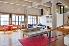 New York Loft. You could do ANYTHING in a space like this.
