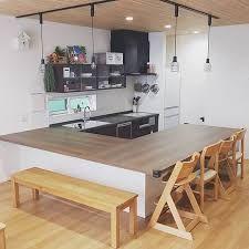 平屋 間取り U型キッチン Google 検索 2020 キッチンアイデア キッチン 間取り