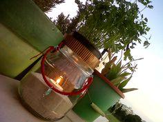 candeleros reciclados