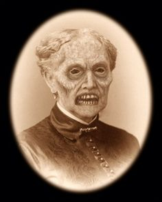 creepy photo....is this your grandmother?