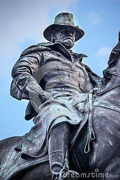 US Grant Statue Civil War Memorial Capitol Hill Washington DC by William Perry, via Dreamstime