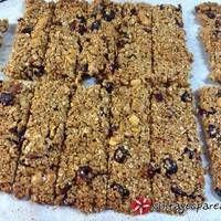 Σπιτικές μπάρες δημητριακών (granola)
