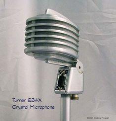 Turner S34X Crystal Microphone