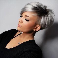 18 idees de cheveux gris argent