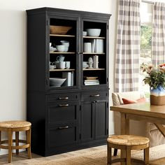 Dining Room Server, Dining Room Hutch, Kitchen Pantry Cabinets, Furniture Makeover, Hutch Furniture, Dining Furniture, Furniture Update, Furniture Refinishing, Distressed Furniture