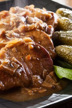 Crock Pot Pork Roast and Mushrooms