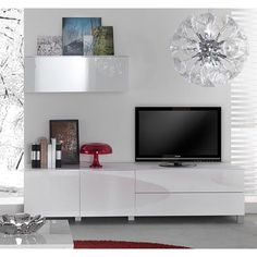 Hoogglans tv dressoir Zen Lifestyle