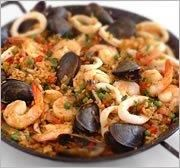 Spanish Paella on Saturday evenings with gypsy guitar/violin music.  Reservations encouraged.