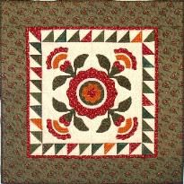 Indian Paintbrush Quilt...so pretty