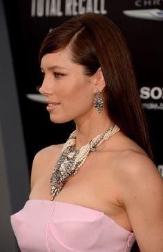 Jessica Biel Long Straight Cut hair-and-beauty