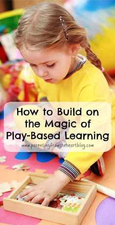 There is so much information about the importance and value of play and play-based learning. As a parent how do we build on our child's play and are there things that can hinder the magic of play-based learning? Inquiry Based Learning, Project Based Learning, Early Learning, Learning Activities, Kids Learning, Vocabulary Activities, Teaching Kids, Learning English, Creative Activities