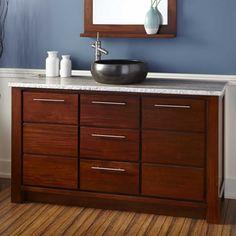 Teak Vanities - Bathroom Vanities | Signature Hardware