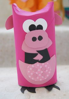 24 ideas about Toilet Paper Roll Crafts Kids Crafts, Christmas Crafts For Kids, Diy And Crafts, Toilet Roll Art, Toilet Tube, Rolled Paper Art, Egg Carton Crafts, Puppet Crafts, Toilet Paper Roll Crafts