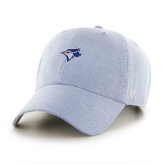 225740d1bc79c1 Toronto Blue Jays Monument Salute Clean Up Periwinkle 47 Brand Adjustable  Hat