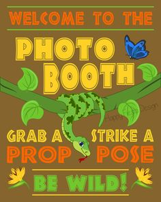 PRINTABLE Jungle Photo Booth PropsJungle Photo Booth