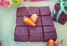 Céklás brownie Pink.Céklától