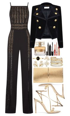 Untitled by bearnadette featuring Yves Saint Laurent Elie Saab Gianvito Rossi Nina Ricci David Yurman Allurez Movado Anita Ko Smith & Cult Marc Jacobs Givenchy clothing Dressy Outfits, Cool Outfits, Work Fashion, Fashion Looks, Givenchy Clothing, Estilo Rock, Cute Skirts, Mode Style, Business Fashion
