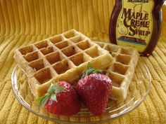 *****This hearty waffle recipe comes from an issue of Parents Magazine. Ive made it every week for years and it comes out great every time. I double it and freeze the leftover waffles and reheat in toaster oven.