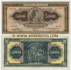 5000 Drachmai 1.9.1932