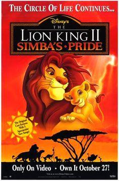 THE LION KING II : SIMBA´S PRIDE // usa // Walt Disney Pictures 1998