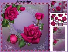 Roses Just For You on Craftsuprint - View Now! Happy Birthday Special Friend, Happy Mothers Day, White Roses, Pink Roses, Beautiful Verses, Matching Gifts, Cute Cupcakes, Blue Christmas, Summer Flowers