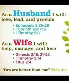 . Ephesians 5, Genesis 2, 3 I, Marriage Advice, Good News, Bible Verses, Good Things, Love, Awesome