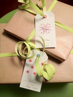 Étiquettes cadeaux - vertbaudet