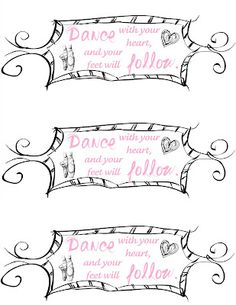 Throw a Ballet/Dance Party — with Tutu Wreath, Dance Cake, Free Printables and More!!