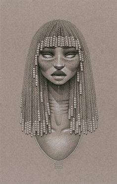 afro black draw - Pesquisa Google