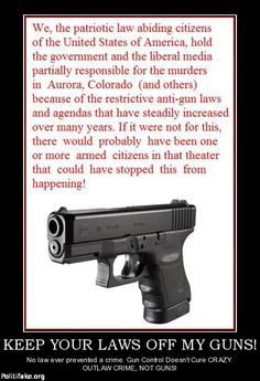 2nd Amendment and keep your anti-Constitutional laws off my guns, thank you very much.