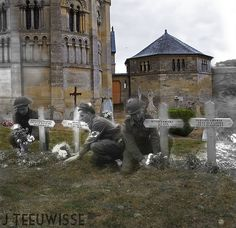 Ghosts of War - France; Side by side | by Jo Hedwig Teeuwisse