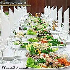 Maistas Vestuvėms Šventinis Maistas