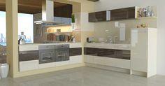 Kitchen Ideas Cream Gloss wren kitchen - handleless cashmere gloss | kitchen ideas