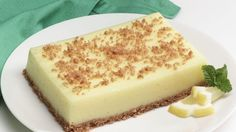 Cheerios* Lemon Dessert recipe and reviews - This low-fat, refreshing dessert can also be cut into smaller pieces to make lemon squares.