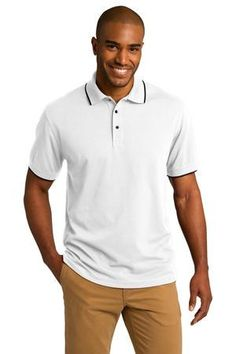 Rapid Dry Tipped Polo $38.00