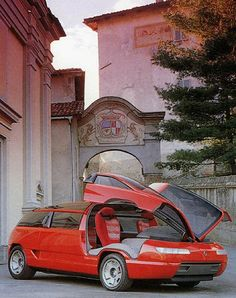 Lamborghini Genesis (Bertone), 1988.  I've been looking for a good image of one since 88. very very rare