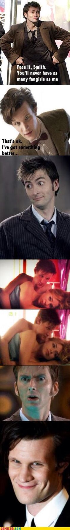 Just Died!     |    Rose and her doctors...     |Matt Smith / David Tennant / Billie Piper  | Doctor Who
