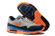 san francisco 1c76f 530f1 Now Buy New Arrival Nike Air Max Lunar 1 Mens Grey Black Orange Blue Save  Up From Outlet Store at Footlocker.
