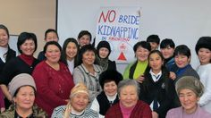 The Women's Discussion Club for Democracy discusses the law against bride kidnapping.