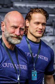 Real Men Wear Kilts -- 'Outlander' Hits the Edinburgh Kiltwalk for Charity | Outlander TV News